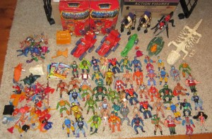 MOTU Parts, Figures, Weapons and Accessories Lot