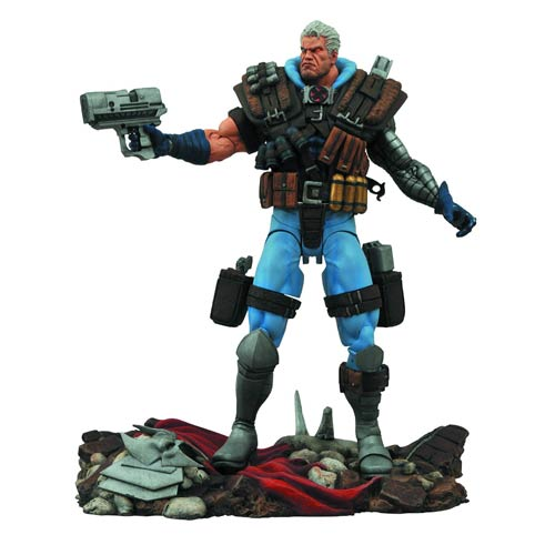 Marvel Select 7″ Cable Figure Official Press Image