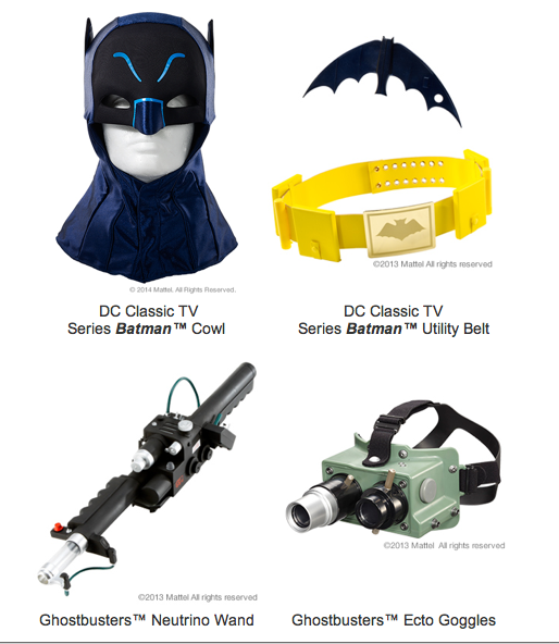 Mattycollector Offers Free Shipping On Cosplay Until October 10th
