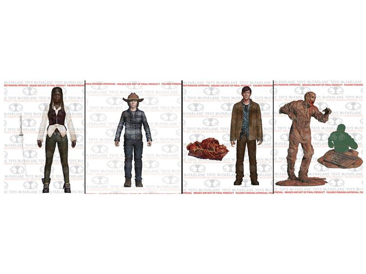 McFarlane Toys The Walking Dead TV Series 7 Revealed