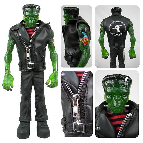 Rebel Frankenstein 9-Inch Action Figure On Sale At Entertainment Earth