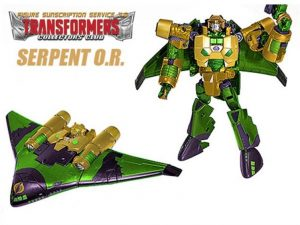 Transformers 2015 Subscription Figure - Serpent O.R.