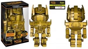 Transformers Booksamillion Exclusives 24K Optimus Prime Hikari Sofubi Figure