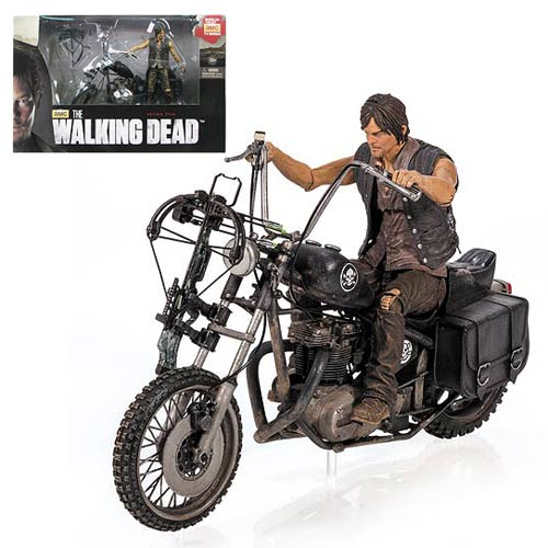 McFarlane Toys Reissues The Walking Dead Daryl Dixon And Motorcycle, And 10″ Daryl Dixon Figure