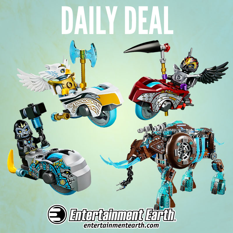 LEGO Legends Of Chima 20% Off Daily Deal At Entertainment Earth