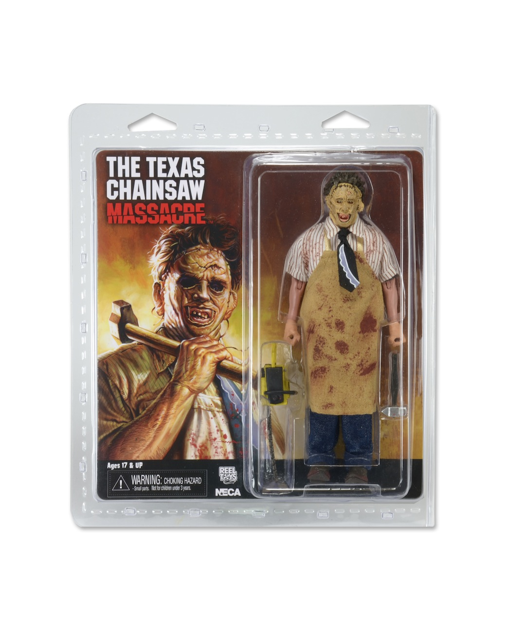NECA 40th Anniversary Texas Chainsaw Massacre Leatherface Clothed Figure