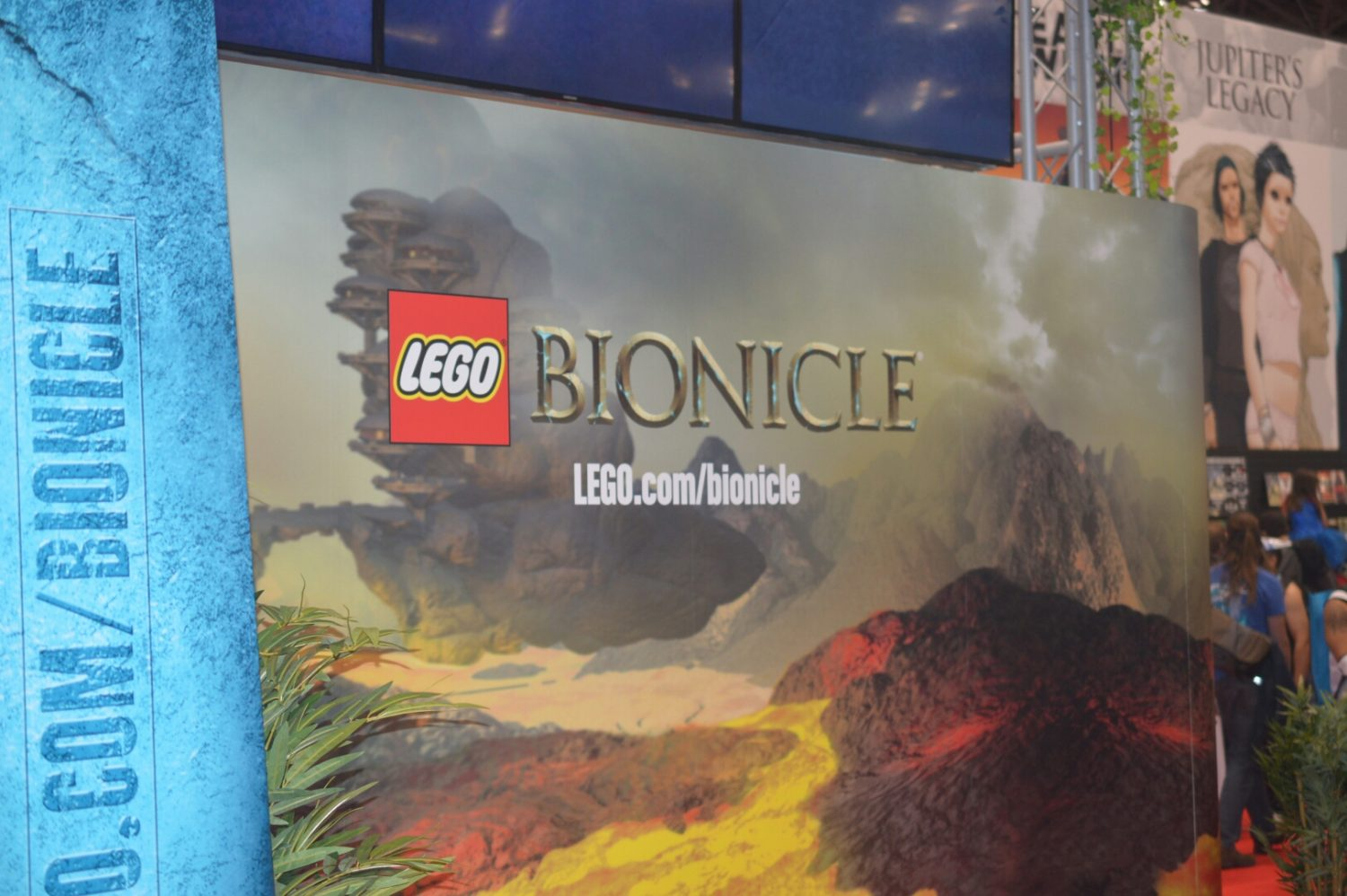 NYCC 2014 – LEGO Bionicle Display
