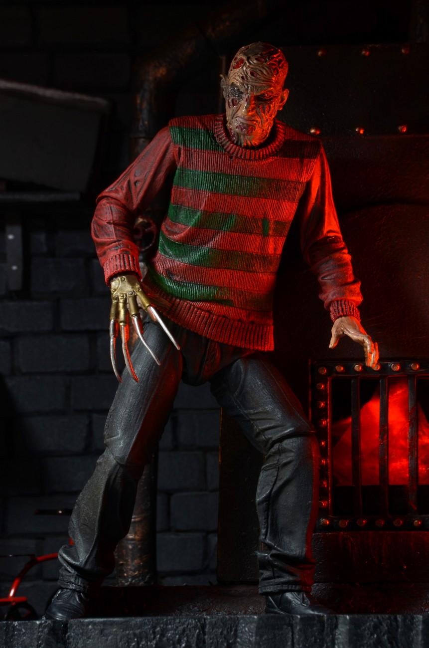 A Nightmare On Elm Street 30th Anniversary Ultimate Freddy Kruger Figure Images