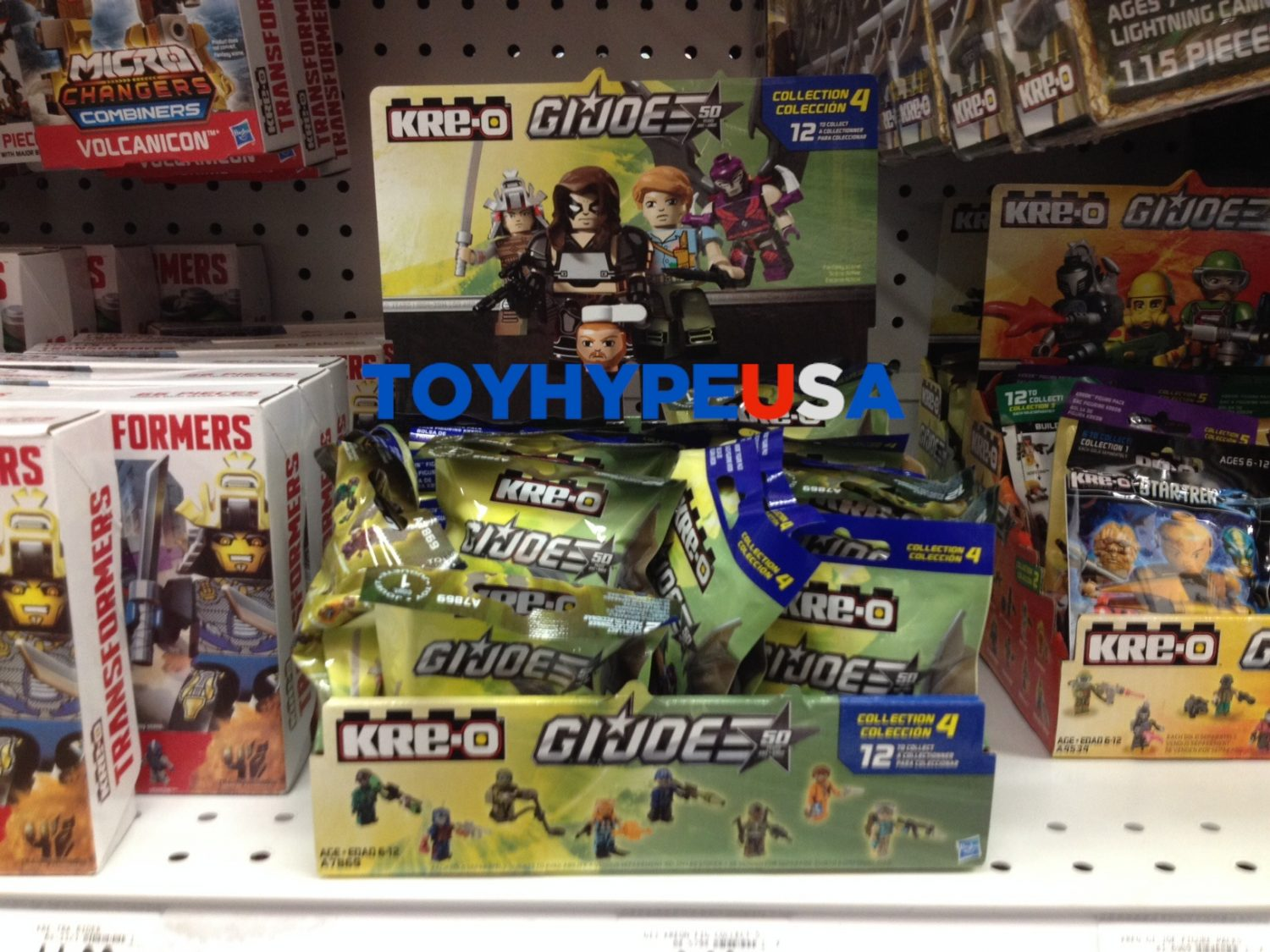 "G.I. Joe Kre-O Collection 4 Blind Bags Now Shipping To Toys ""R"" Us"