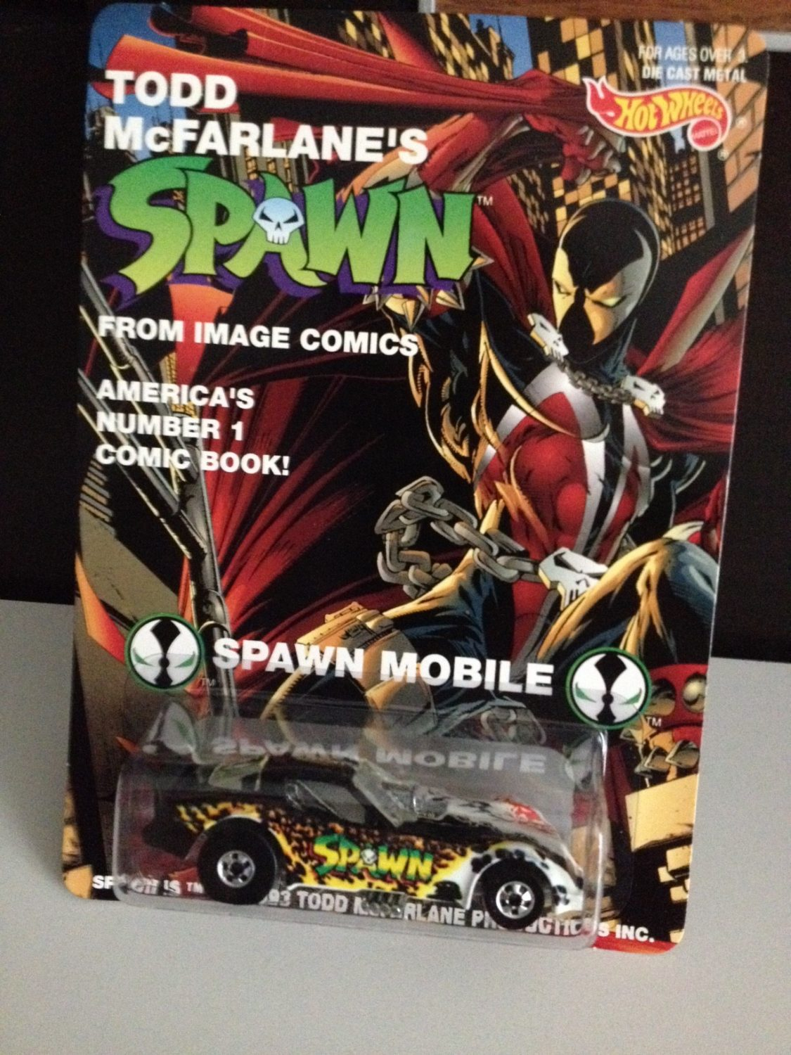 NYCC 2014 – Spawn Hot Wheels Car Giveaway At The McFarlane Toys Booth