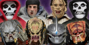 NECA Shipping Update - Predators, Rocky, Misfits, And Texas Chainsaw Massacre Action Figures