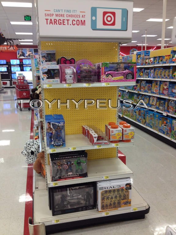 New Target Endcaps Feature Marvel Legends, Star Wars Black Series & More Store Exclusives