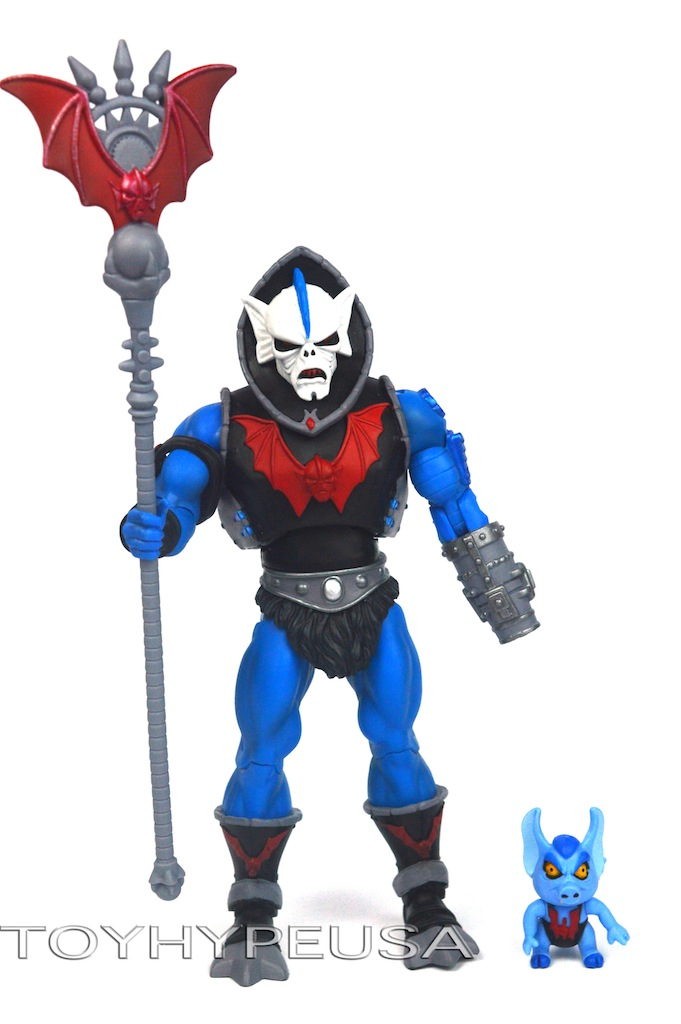 SDCC 2014 Exclusive Masters Of The Universe Classics Hordak With Imp Review