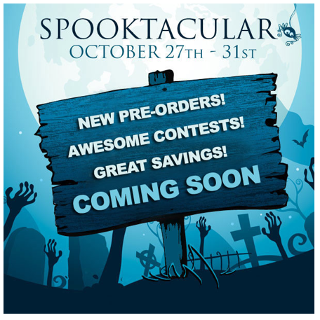 Sideshow Collectibles Spooktactular Annual Event Starts October 27-31, 2014