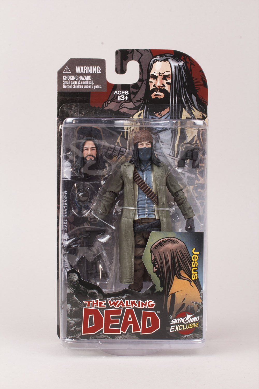 NYCC 2014 Exclusive – The Walking Dead Jesus Action Figure From McFarlane Toys And Skybound
