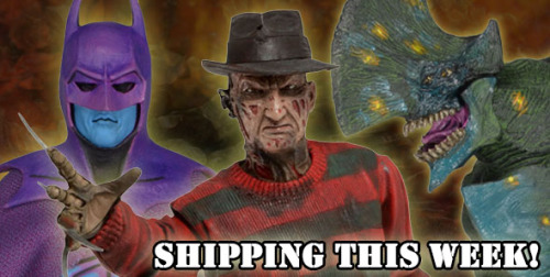 NECA Shipping This Week: Classic Video Game Batman, Ultimate Freddy And Pacific Rim Axehead Action Figures
