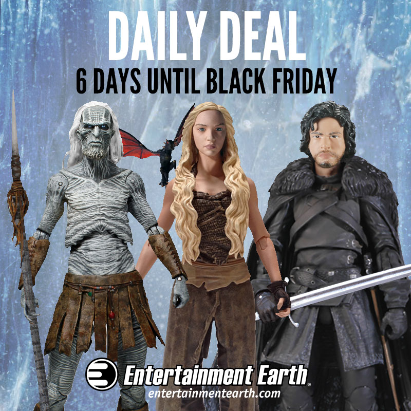 Entertainment Earth Daily Deal – Funko Game Of Thrones Action Figures 20% Off