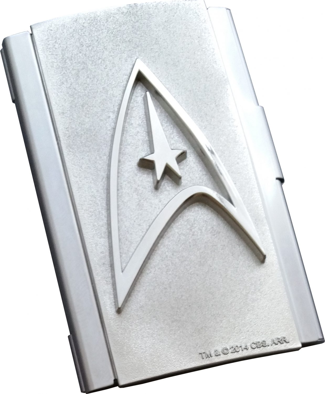 Icon Heroes Star Trek Command & NCC-1701 Business Card Case