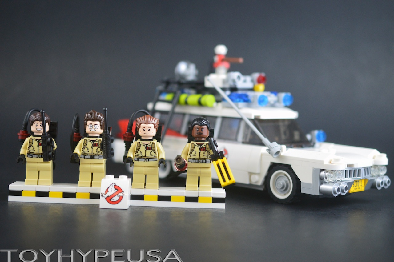 Lego Ghostbusters Ecto-1 21108 Review