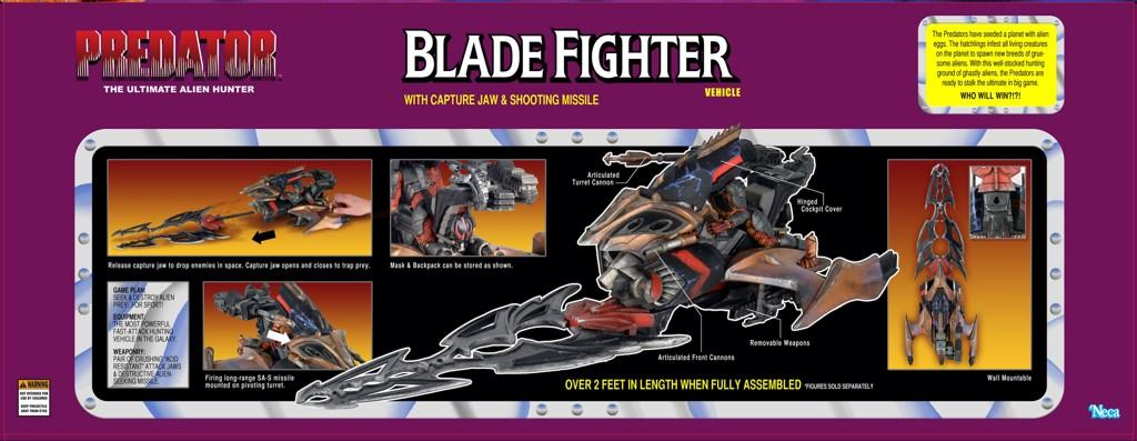 NECA Predator Blade Fighter Vehicle Packaging Preview