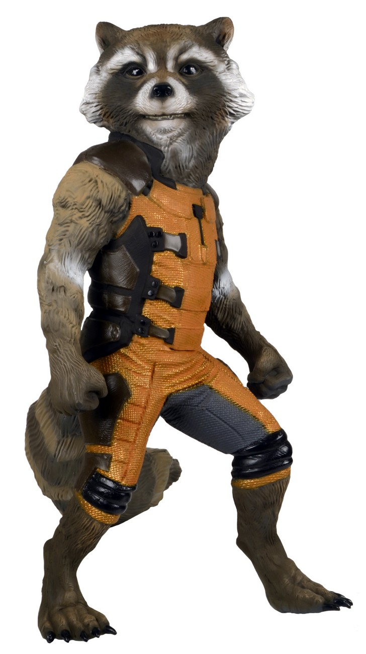 NECA Introduces Guardians Of The Galaxy Life-Size Rocket Raccoon Figure