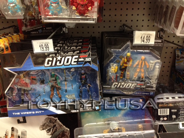 """Toys """"R"""" Us Lowers Price Of G.I. Joe 50th Anniversary Shared Exclusives"""