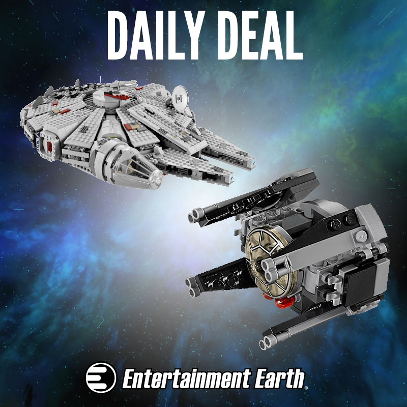 Entertainment Earth Update – LEGO Star Wars 15% Off Daily Deal