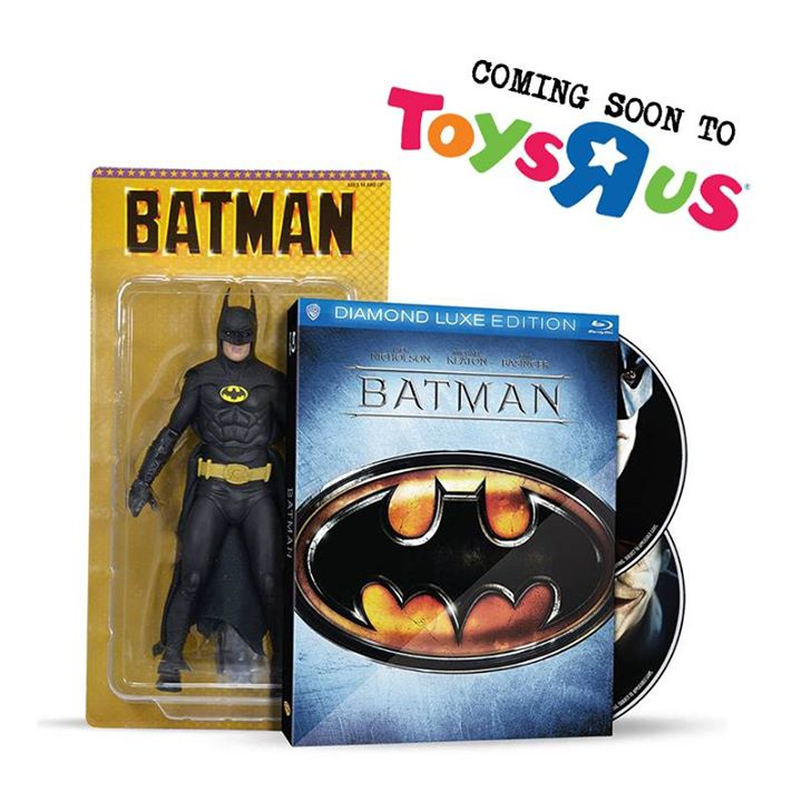 """NECA Batman 1989 Michael Keaton 6″ Action Figure Included With Blueray Set Coming To Toys """"R"""" Us"""
