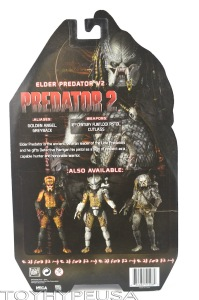 NECA Predator 2 Elder Predator V2 04