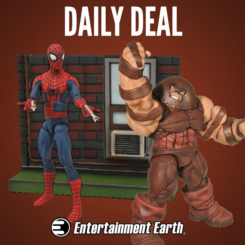 Entertainment Earth Daily Deal – Up To 40% Off Marvel Select Action Figures