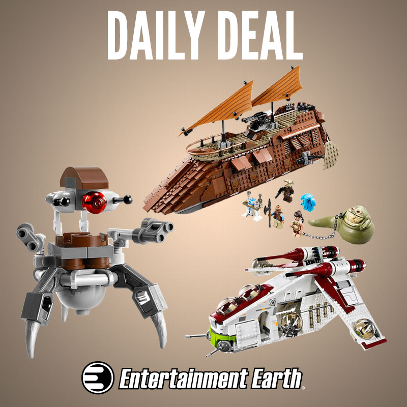 LEGO Star Wars 15% Off Sale Today Only At Entertainment Earth