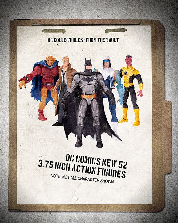 DC Collectibles New Online Fan Poll Of Unreleased Products