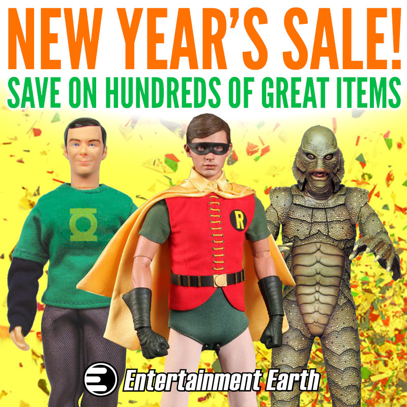Entertainment Earth's New Year's Sale Part 1 Ends Tonight!