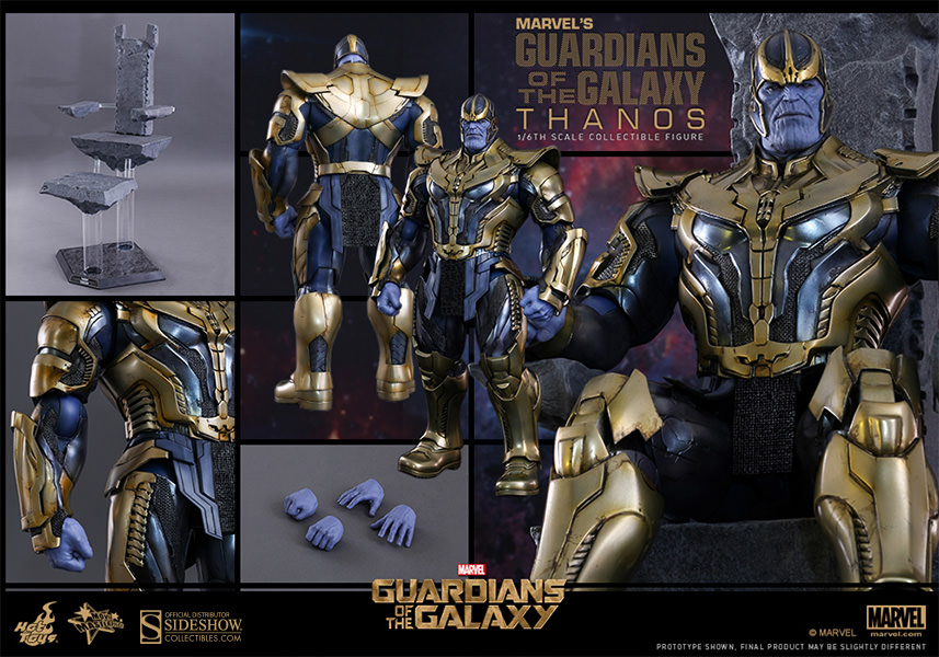 Hot Toys Thanos Sixth Scale Figure In Stock & Shipping Now