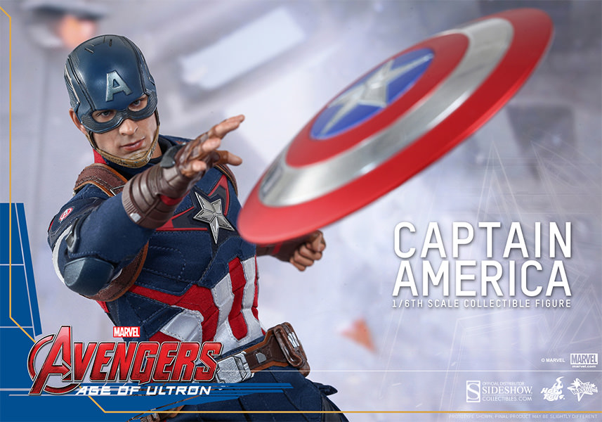 Hot Toys Avengers: Age of Ultron Captain America Sixth Scale Figure Pre-Orders