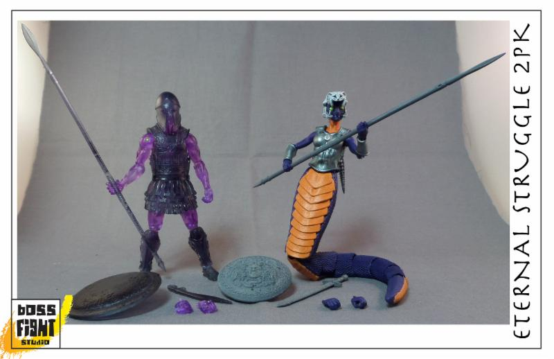 Boss Fight Studio Vitruvian H.A.C.K.S. Traveling Convention Exclusive 2-Pack