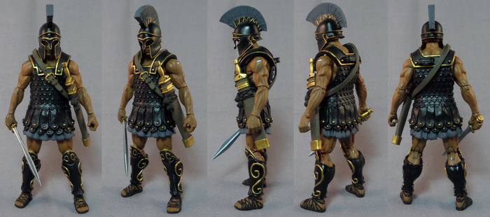 Boss Fight Studio's Vitruvian H.A.C.K.S. Myrmidon Paint Master Sculpt