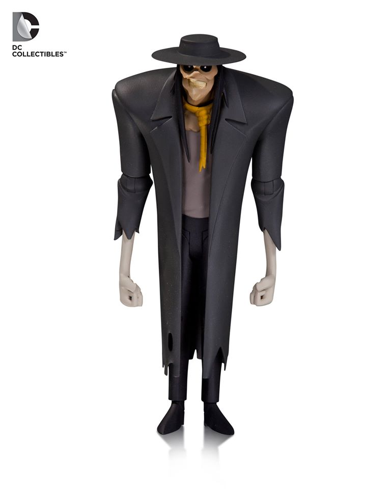 DC Collectibles Batman: The Animated Series – The Scarecrow Figure Announced