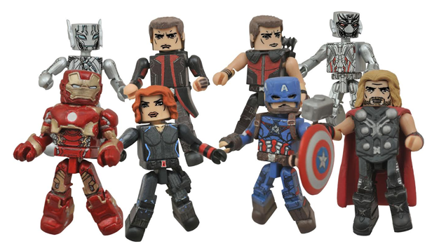 Diamond Select Toys Avengers: Age Of Ultron Minimates Revealed