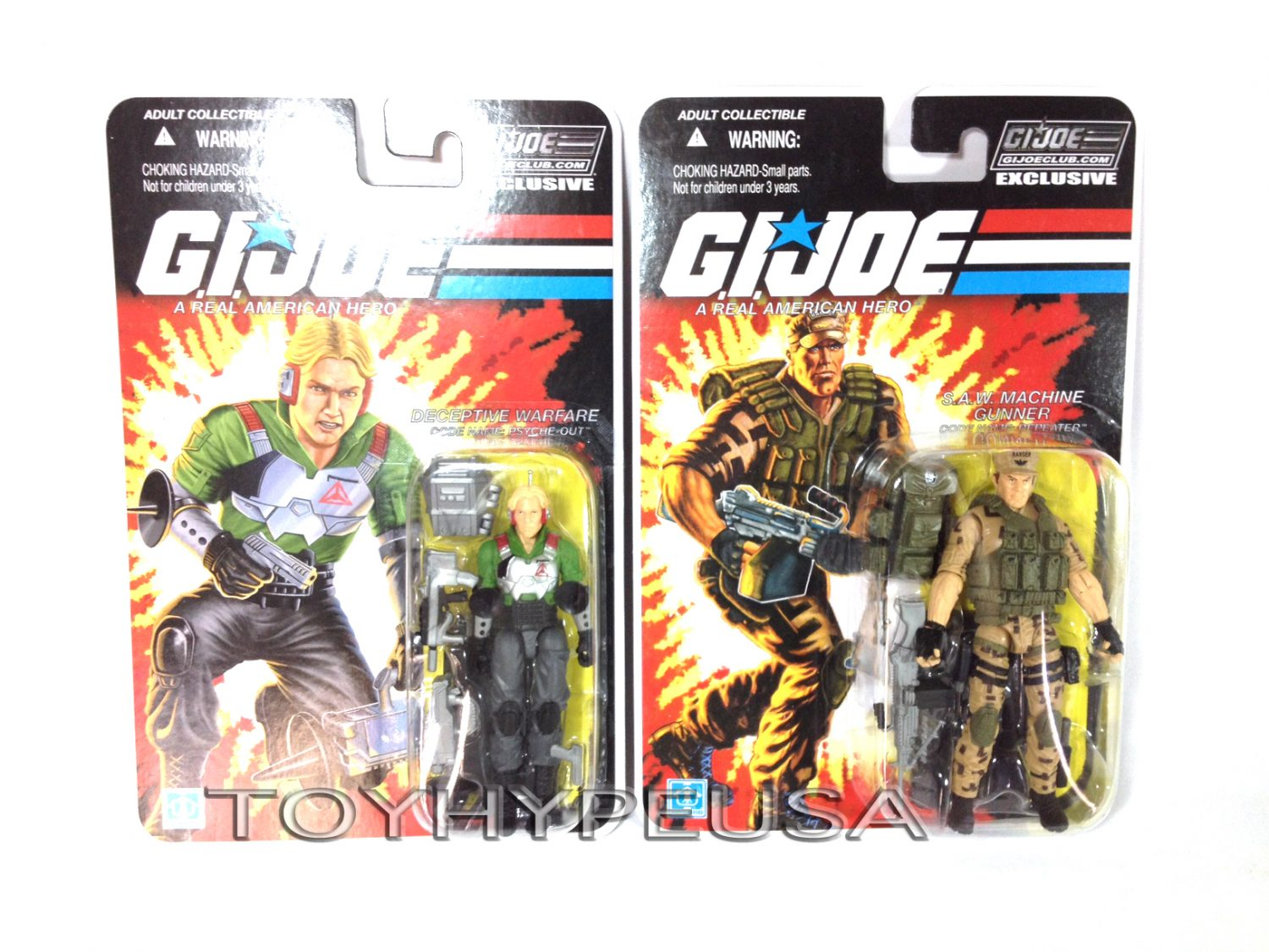 G.I. Joe Collectors' Club Figure Subscription Service 3.0 Repeater & Phyche-Out Now Shipping