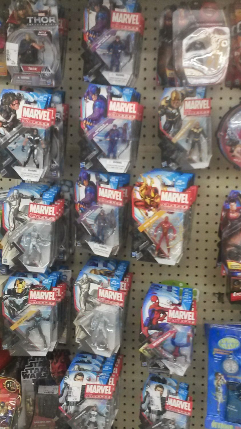 Hasbro Marvel Universe 4″ Action Figures At Gabriel Brothers