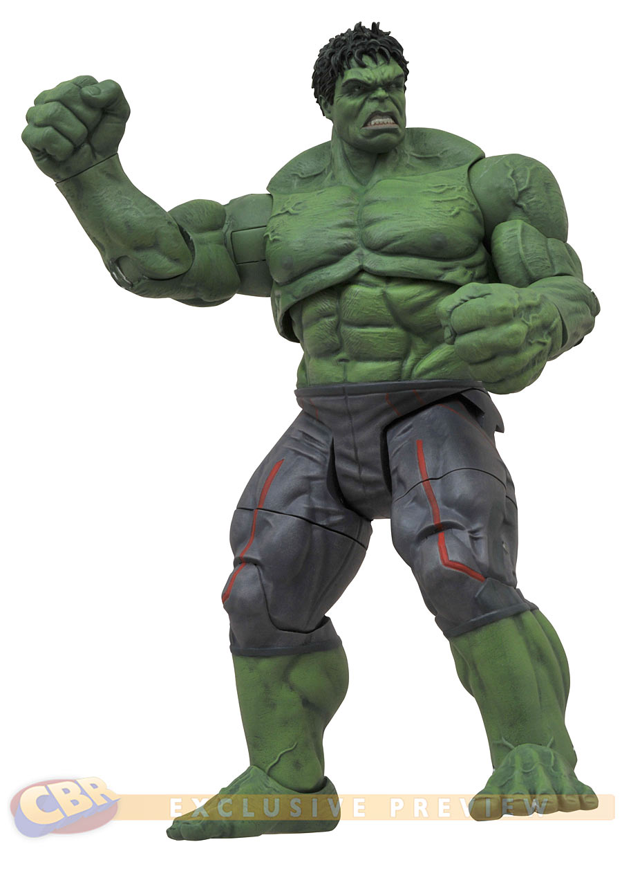 Marvel Select Avengers: Age Of Ultron Hulk Figure Revealed