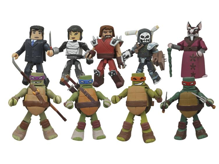 DST Teenage Mutant Ninja Turtles Minimates Series 2 Revealed
