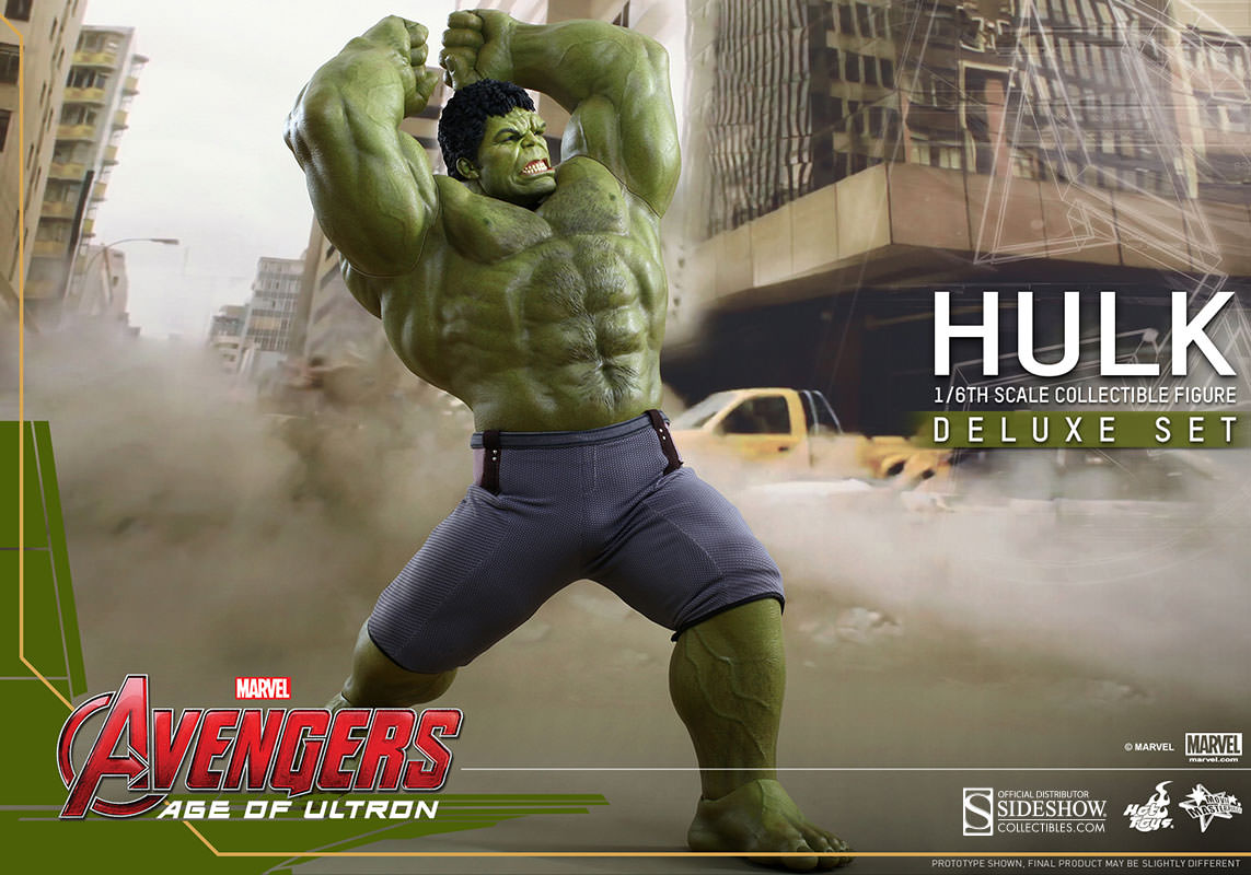 Hot Toys Hulk Deluxe Sixth Scale Figure Set Pre-Orders