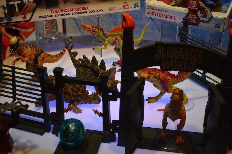 NYTF 2015 – Hasbro Jurassic World Coverage