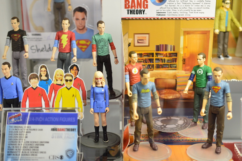 NYTF 2015 – Entertainment Earth Shows Off Big Bang Theory Action Figures