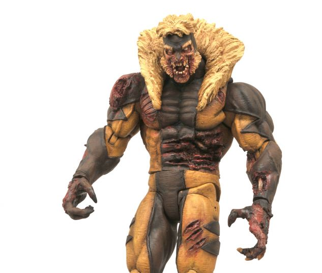 Diamond Select Toys Announces Marvel Select Zombie Sabretooth