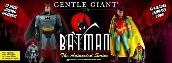 Gentle Giant Announces Batman: The Animated Series 12″ Jumbo Figures