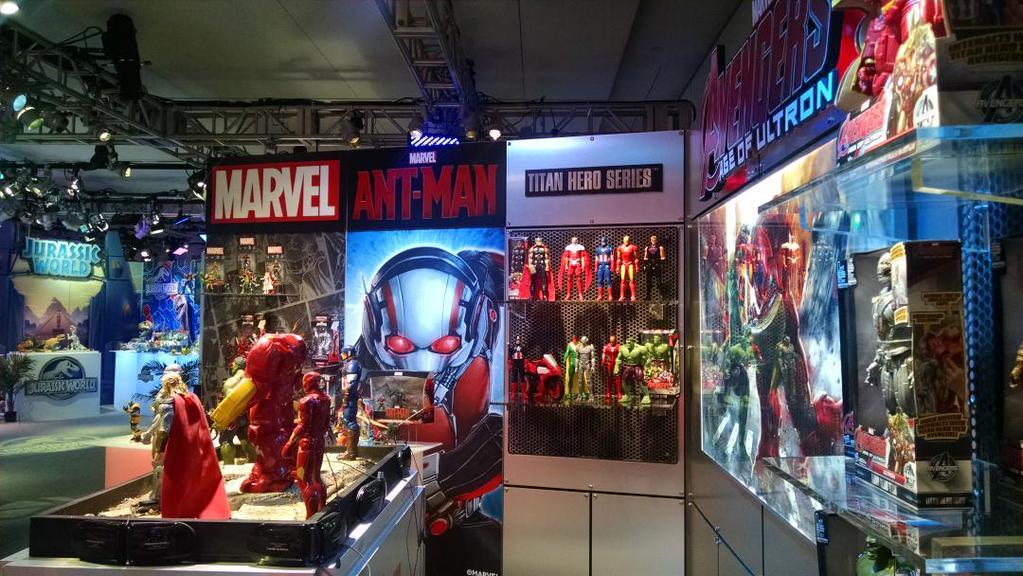 Hasbro Marvel's Ant-Man Movie 3.75″ & 6″ Figures Press Release & Ultron Build-A-Figure Confirmed