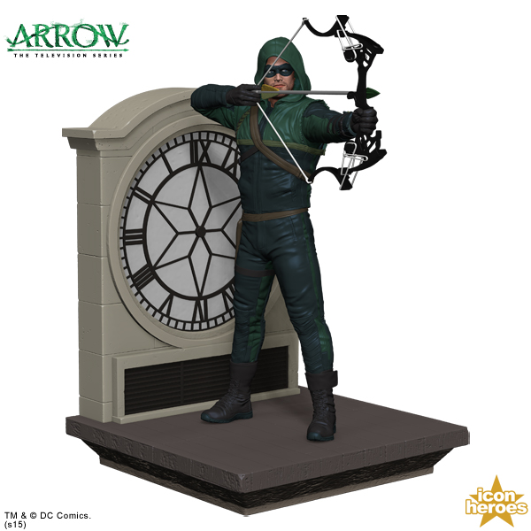 Icon Heroes Announces Arrow The Television Series Bookend